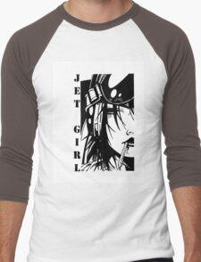 Jet Girl Men's Baseball ¾ T-Shirt