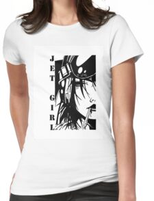 Jet Girl Womens Fitted T-Shirt
