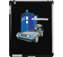 Time Travel Jump Start iPad Case/Skin