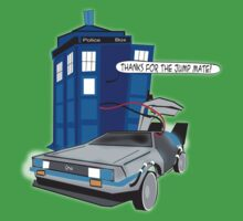 Time Travel Jump Start Kids Tee