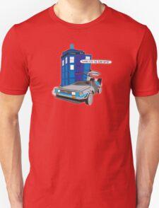 Time Travel Jump Start Unisex T-Shirt