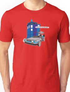 Time Travel Jump Start Unisex T-Shirt