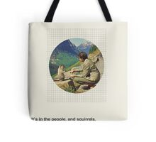 Human / Squirrel. Tote Bag