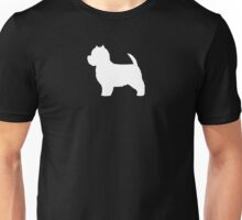 West Highland White Terrier Silhouette(s) Unisex T-Shirt