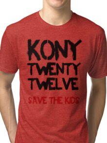 Kony T-Shirt - Save the Kids Tri-blend T-Shirt