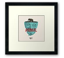 Animal. Framed Print