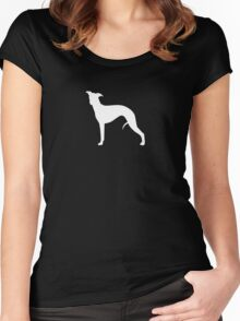 Whippet Silhouette(s) Women's Fitted Scoop T-Shirt