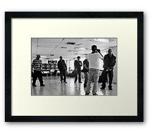 TF Video Shoot Session Framed Print
