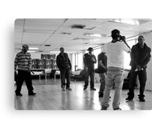 TF Video Shoot Session Canvas Print