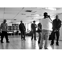 TF Video Shoot Session Photographic Print