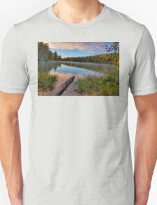 Pink Lake Reflections Unisex T-Shirt