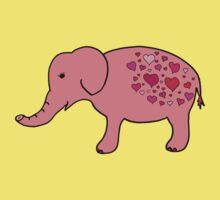 Elephant Love Kids Tee