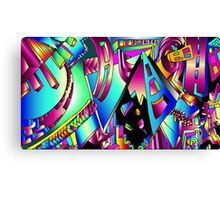 Triangle Visions Canvas Print