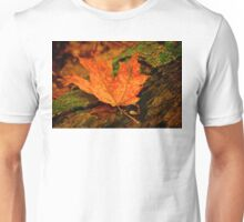 Orange Leaf Unisex T-Shirt