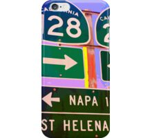 15 Miles to Napa iPhone Case/Skin