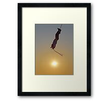 Meet The Sun - Reunirse Con El Sol Framed Print