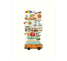 Best trip ever Art Print