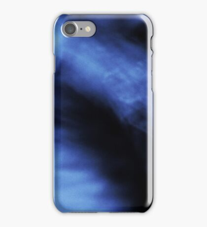 Abstract Blue iPhone iPhone Case/Skin