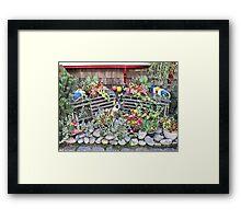 Buoyed Up Blooms Framed Print