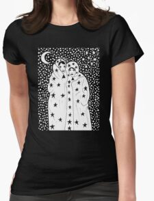 """""""Sisters of the Night"""" T-Shirt by Allie Hartley Womens Fitted T-Shirt"""