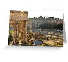 Ancient Rome Ruins Greeting Card