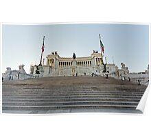 Monument to Vittorio Emanuele II Poster
