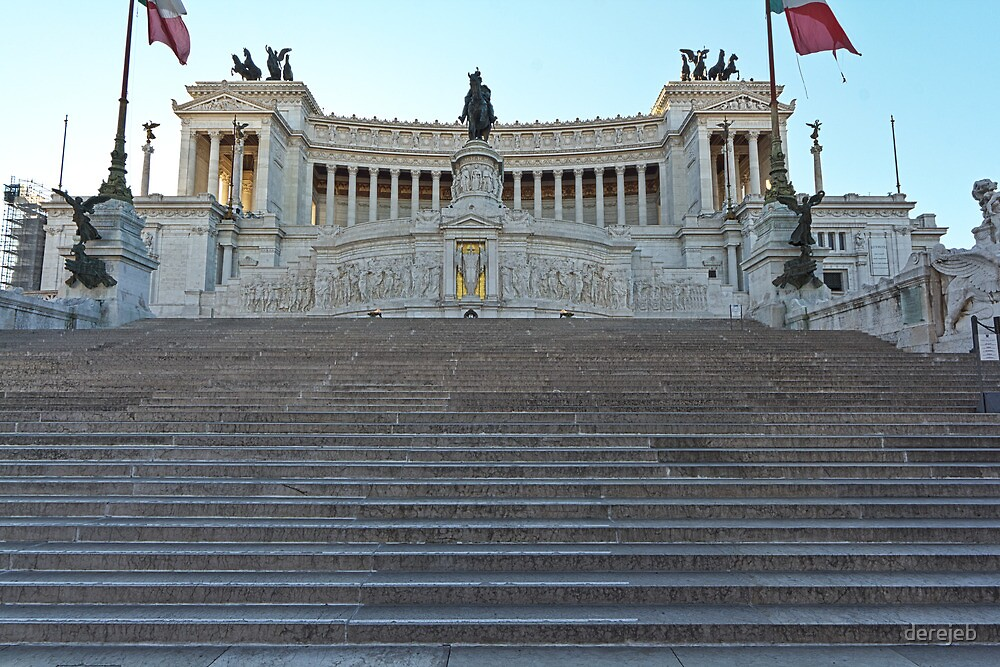 Monument to Vittorio Emanuele II by derejeb