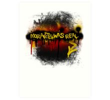 Moriarty was real (fire) Art Print