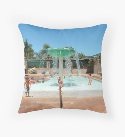 COMMUNITY POOL Throw Pillow