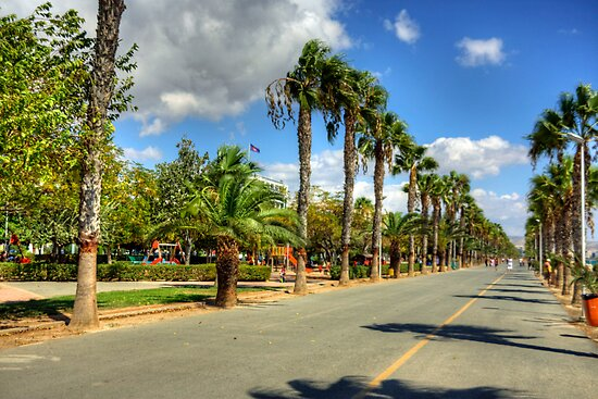 Limassol Promenade by Tom Gomez