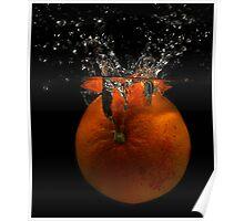 Just a splash of orange Poster
