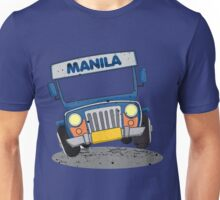Philippine Jeepney cartoon prints Unisex T-Shirt