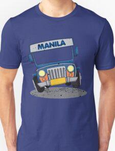Philippine Jeepney cartoon prints T-Shirt