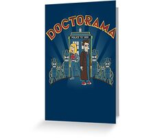 Doctorama Presents! Greeting Card