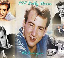 Bobby Darin Collage  by Matty B. Duran