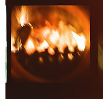 Christmas crackle Photographic Print