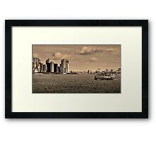 South of Manhattan Framed Print