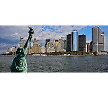 Liberty View Photographic Print