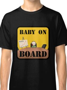 Baby on (Corporate) Board Classic T-Shirt