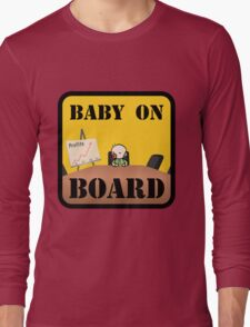 Baby on (Corporate) Board Long Sleeve T-Shirt