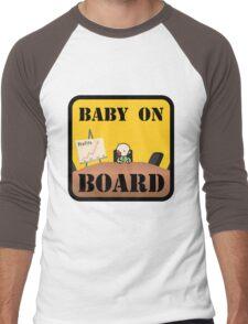 Baby on (Corporate) Board Men's Baseball ¾ T-Shirt