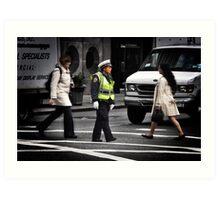 Police Calm Art Print