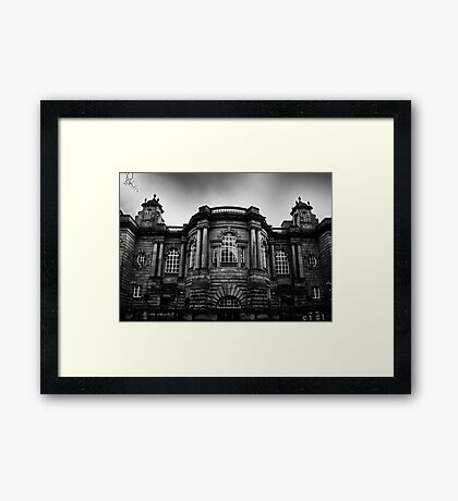 Haunted Mansion? Framed Print