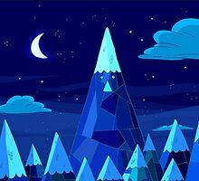 Ice Kindom (Night) by Matt Burke