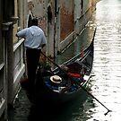 Venice back water by geof
