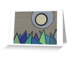 Icy Landscape Greeting Card