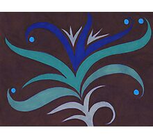 Blue Lily Photographic Print