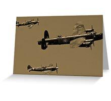 BBMF at RAF Kenley Greeting Card