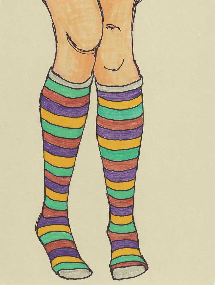 Quirky Socks by Jacki Temple