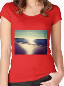 Beach Women's Fitted Scoop T-Shirt